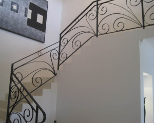 Decorative Wrought Iron Staircase Perth