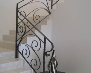 Wrought Iron Stair Case Perth