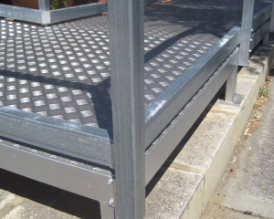 Steel Fabricated Ramp Access