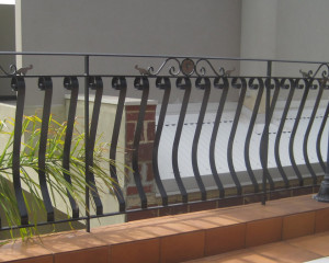 Hand Made Wrought Iron Balustrades