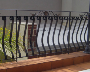 Detailed Wrought Iron Design