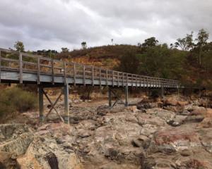 Bells Rapid Bridge Installation