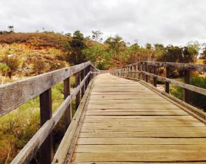 Bells Rapid Bridge Brigadoon