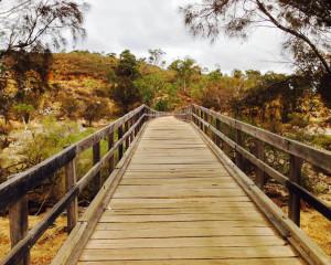 Bells Rapid Bridge Walkway