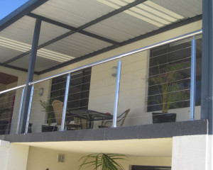 Stainless Steel Wire Balustrades – Sorrento